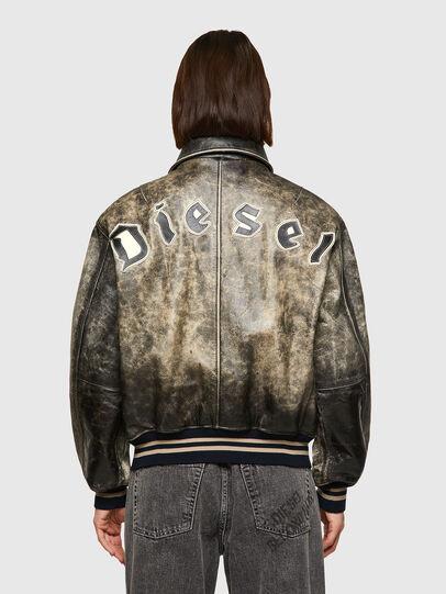 Diesel - DxD-2, Black - Leather jackets - Image 5