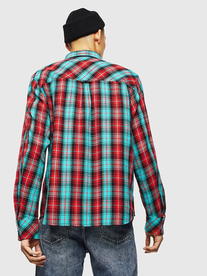Diesel - S-GERRY-CHECK, Red - Shirts - Image 2