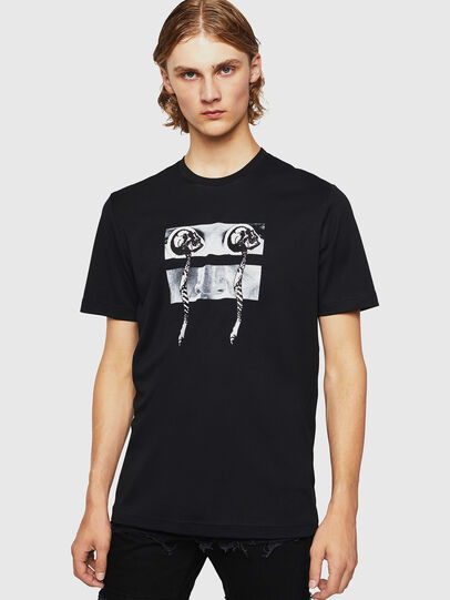 Diesel - TY-X1, Black - T-Shirts - Image 1