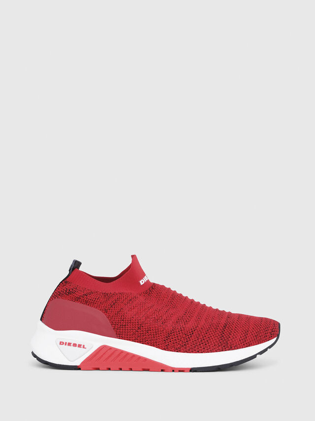 Diesel - S-KB ATHL SOCK, Red - Sneakers - Image 1