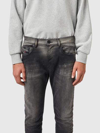 Diesel - D-Strukt JoggJeans® 09B04, Black/Dark grey - Jeans - Image 3