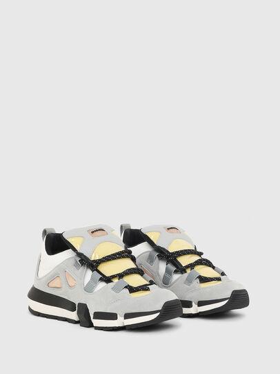Diesel - H-PADOLA SL W, Grey/White - Sneakers - Image 2