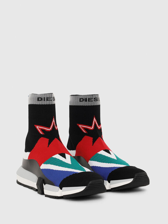 Diesel - H-PADOLA HIGH SOCK, Multicolor - Sneakers - Image 2