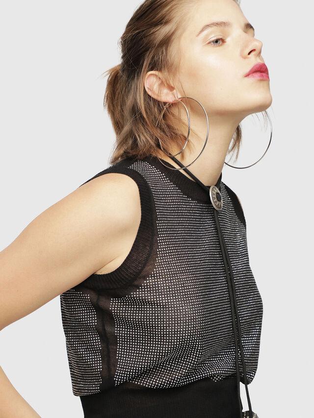Diesel - M-SETT, Black - Knitwear - Image 3