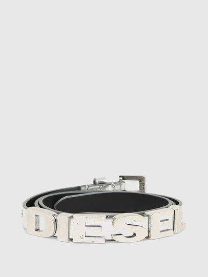 Diesel - B-BOGO, Silver - Belts - Image 1