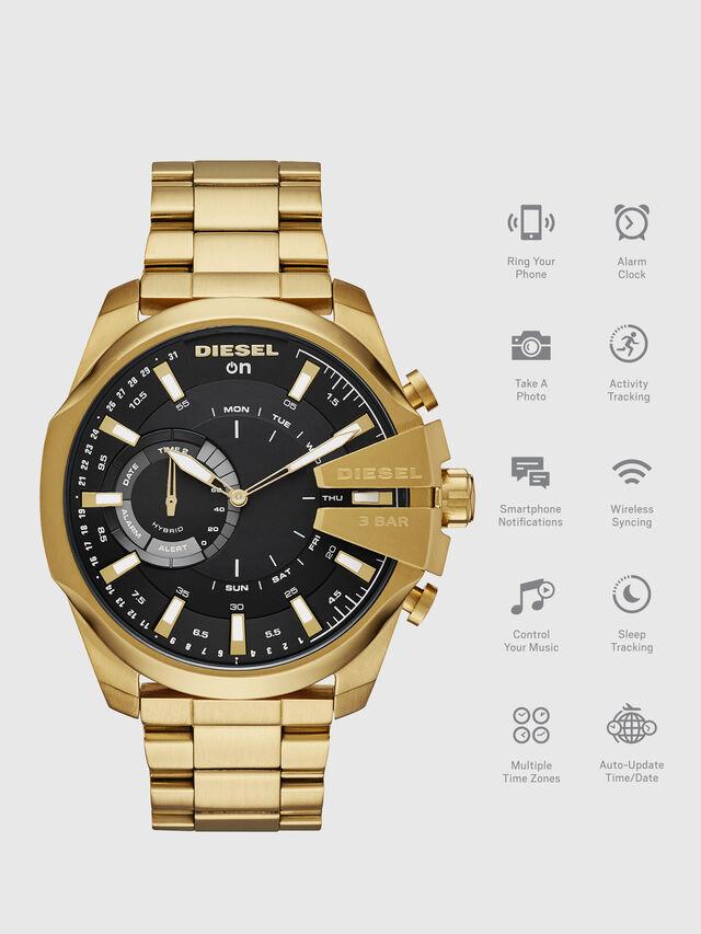 Diesel - DT1013, Gold - Smartwatches - Image 1
