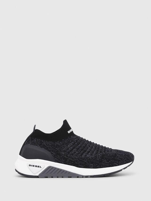 Diesel - S-KB ATHL SOCK, Black/Violet - Sneakers - Image 1