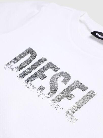 Diesel - SRALLYB-R, White - Sweaters - Image 3