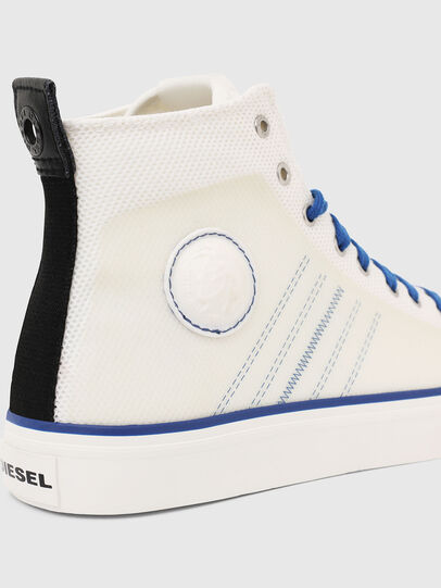 Diesel - S-ASTICO MC H, White/Blue - Sneakers - Image 5