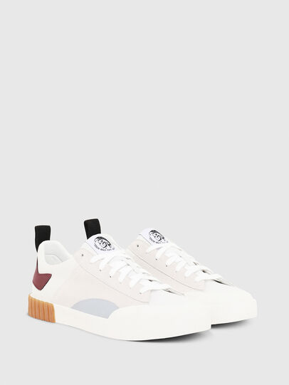 Diesel - S-BULLY LC, White/Red - Sneakers - Image 3