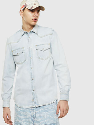 D-EAST-P, Blue Jeans - Denim Shirts