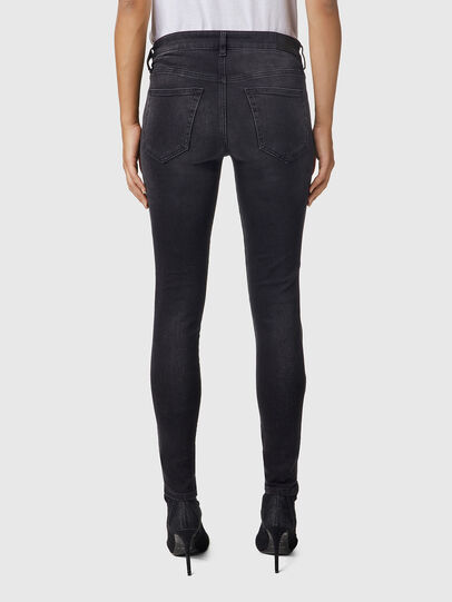 Diesel - Slandy 069EF, Black/Dark grey - Jeans - Image 2