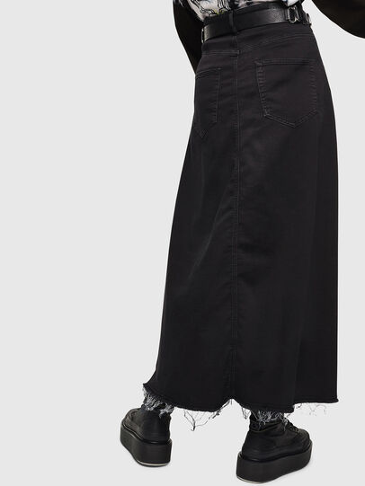 Diesel - D-RHITA JOGGJEANS, Black/Dark grey - Skirts - Image 2