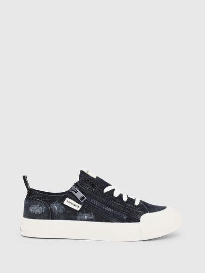 Diesel - S-ASTICO LOW ZIP W, Blue Jeans - Sneakers - Image 1