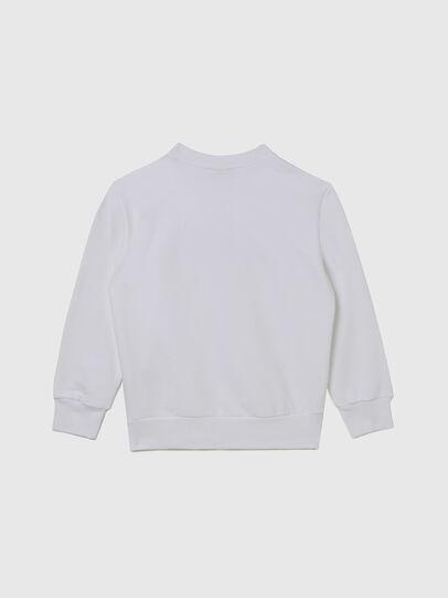 Diesel - SGIRKCUTY OVER, White - Sweaters - Image 2
