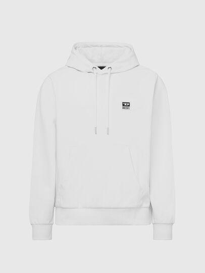 Diesel - S-GIRK-HOOD-K21, White - Sweaters - Image 1
