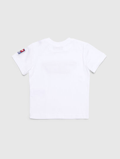Diesel - TJUSTDIVISIONB-D, White - T-shirts and Tops - Image 2