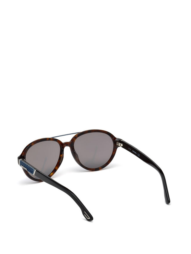 Diesel DL0214, Brown - Eyewear - Image 2