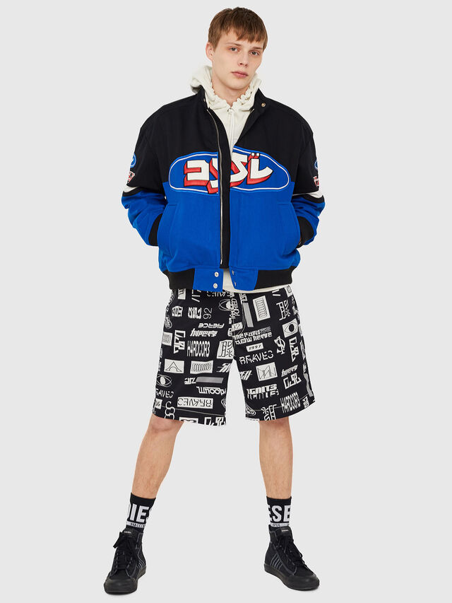 Diesel - J-RAIDEN, Blue/Black - Jackets - Image 5