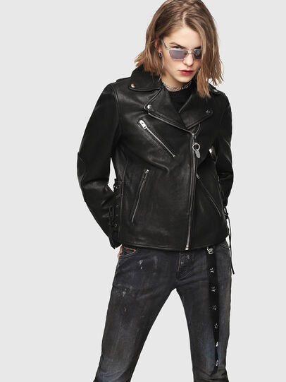 Diesel - CL-L-GOLY,  - Leather jackets - Image 1