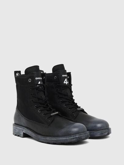 Diesel - D-THROUPER DBBZ, Black - Boots - Image 2