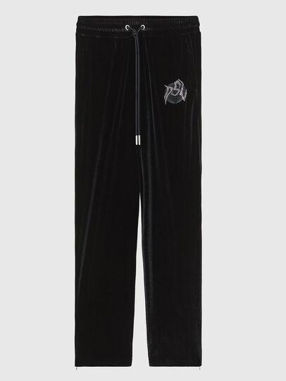 Diesel - P-CHINILLE, Black - Pants - Image 1