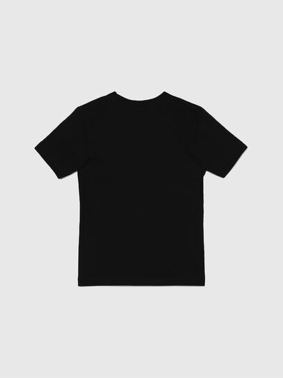 Diesel - TJUSTLOGOB-R, Black - T-shirts and Tops - Image 2