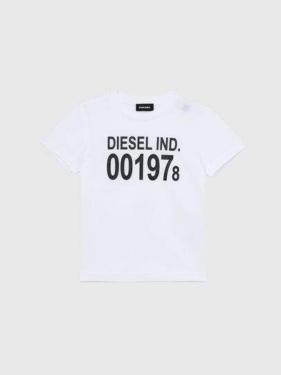 Diesel - TDIEGO001978B-R, White/Black - T-shirts and Tops - Image 1