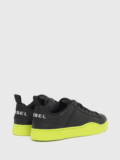 Diesel - S-CLEVER LOW LACE, Black/Yellow - Sneakers - Image 3