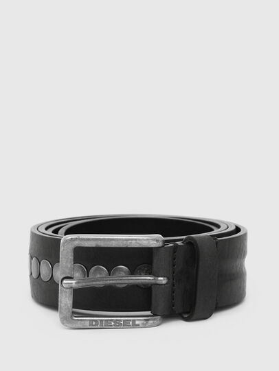 Diesel - B-LATERAL, Black - Belts - Image 1