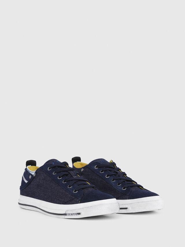 Diesel - EXPOSURE LOW I, Dark Blue - Sneakers - Image 2