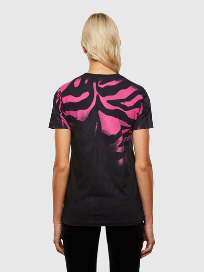 Diesel - T-SILY-R3, Black/Pink - T-Shirts - Image 2