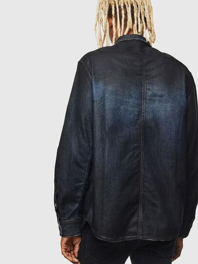 Diesel - D-BANDY-B, Dark Blue - Denim Shirts - Image 2
