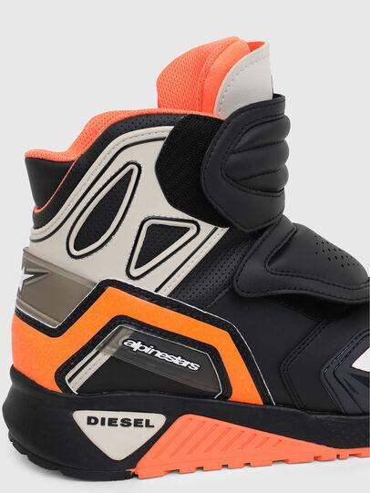 Diesel - ASTARS-SKBOOT, Black/Orange - Sneakers - Image 4