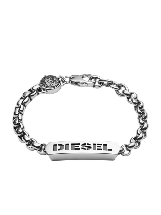 Diesel BRACELET DX0993, Silver - Bracelets - Image 1