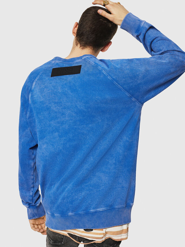Diesel - S-RODD, Light Blue - Sweaters - Image 2