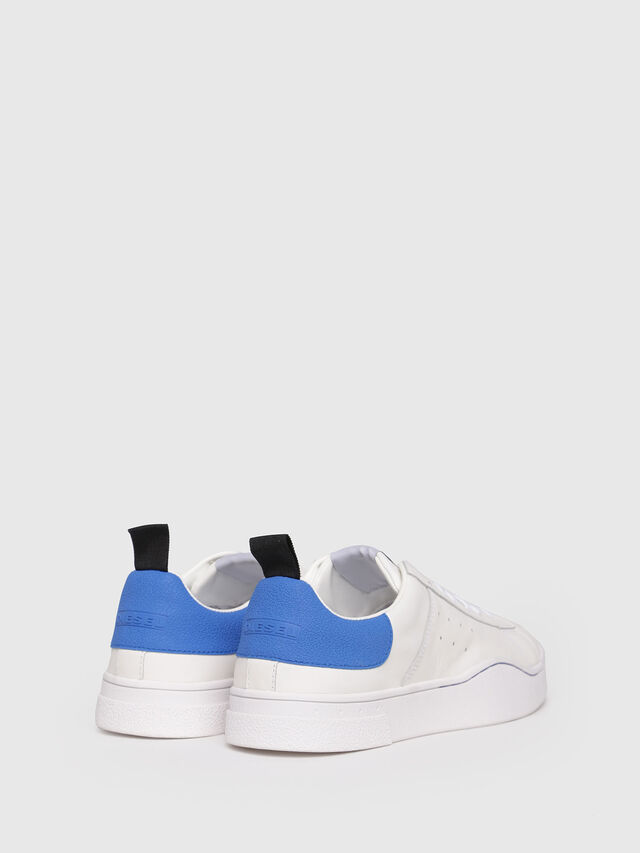 Diesel - S-CLEVER LOW, White/Blue - Sneakers - Image 3