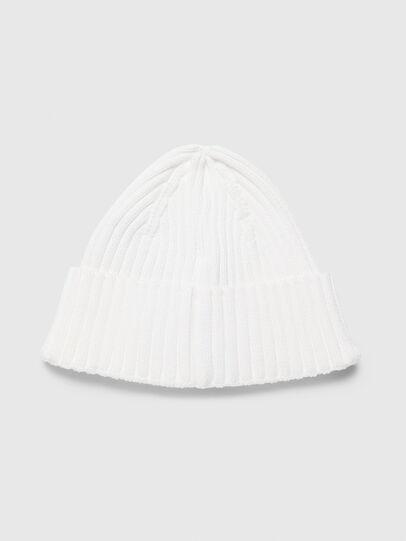 Diesel - K-DENNY, White - Knit caps - Image 2