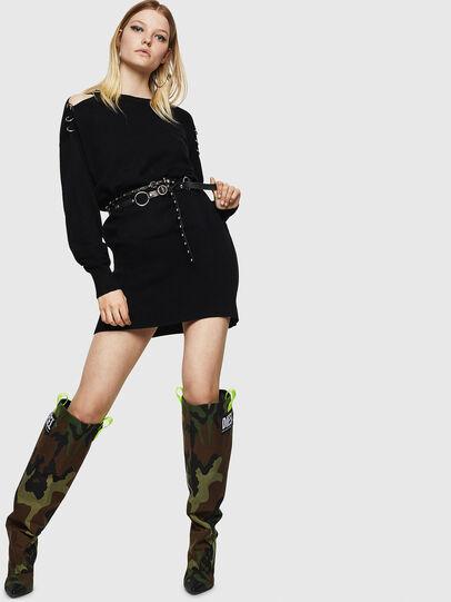 Diesel - M-MERS, Black - Knitwear - Image 6