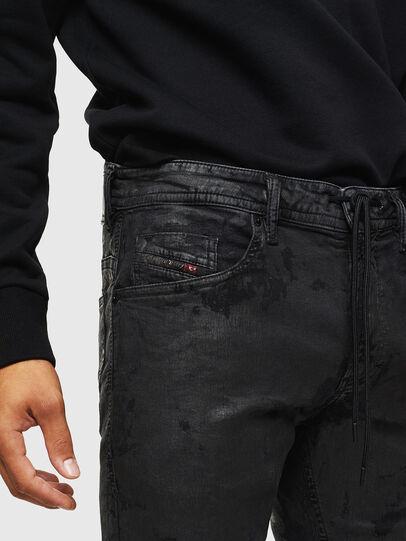 Diesel - Thommer JoggJeans 084AI, Black/Dark grey - Jeans - Image 3