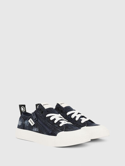 Diesel - S-ASTICO LOW ZIP W, Blue Jeans - Sneakers - Image 2