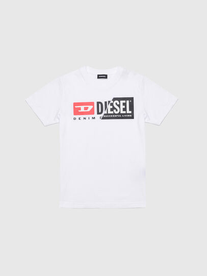 Diesel - TDIEGOCUTY, White - T-shirts and Tops - Image 1