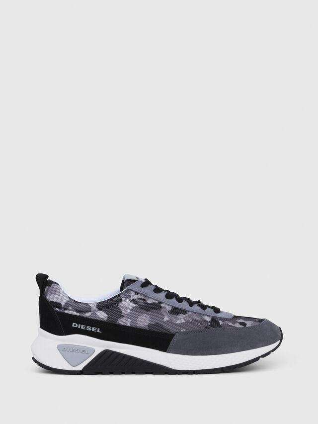 Diesel - S-KB LOW LACE, Gray/Black - Sneakers - Image 1