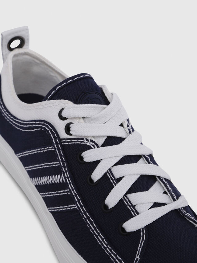 Diesel - S-ASTICO LOW LACE W, Blue/White - Sneakers - Image 5