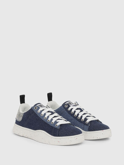 Diesel - S-CLEVER LOW LACE W, Blue - Sneakers - Image 2