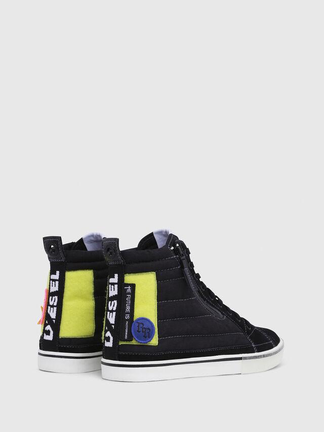 Diesel - D-VELOWS MID PATCH, Black - Sneakers - Image 3
