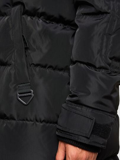 Diesel - W-RUSSELL-LONG, Black - Winter Jackets - Image 5