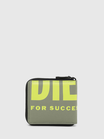 Diesel - ZIPPY HIRESH S II, Olive Green - Small Wallets - Image 2