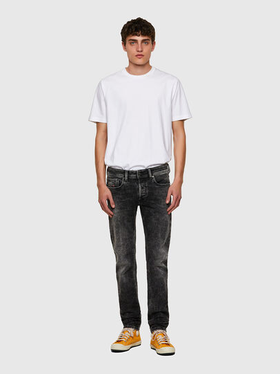 Diesel - Sleenker 09A17, Black/Dark grey - Jeans - Image 5