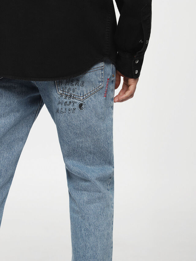 Diesel D-PLANET, Black Jeans - Denim Shirts - Image 3